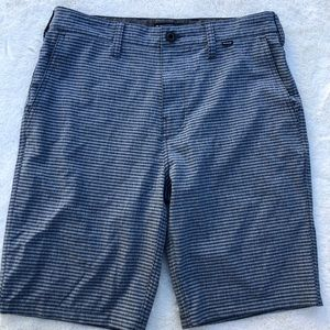 Hurley Hybrid Shorts Striped sz 29